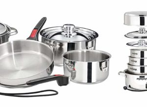 Magma 10 piece nesting cookware