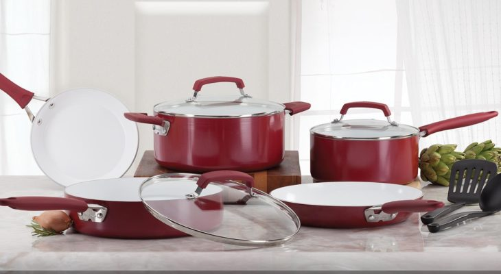 Best Cookware Set 2020.7 Best Ceramic Cookware Set Updated 2020 With Buying Guide