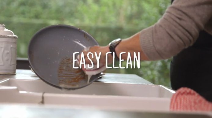 Ceramic Cookware Easy to clean