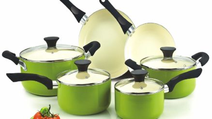 Cook N Home NC-00358 Nonstick Ceramic Coating 10-Piece Cookware Set Review