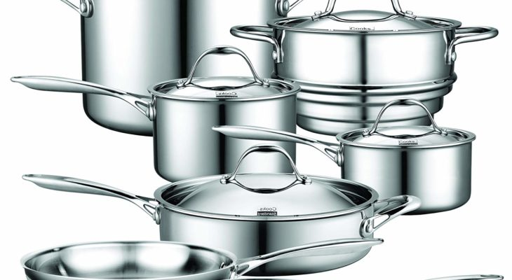 Cooks standard multi-ply clad stainless-steel