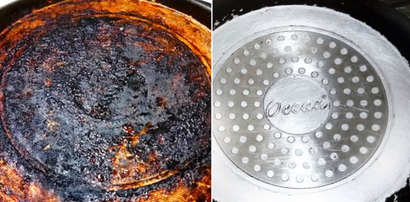 Easy 3 Ways On How To Clean Burnt Pots And Pans Outside