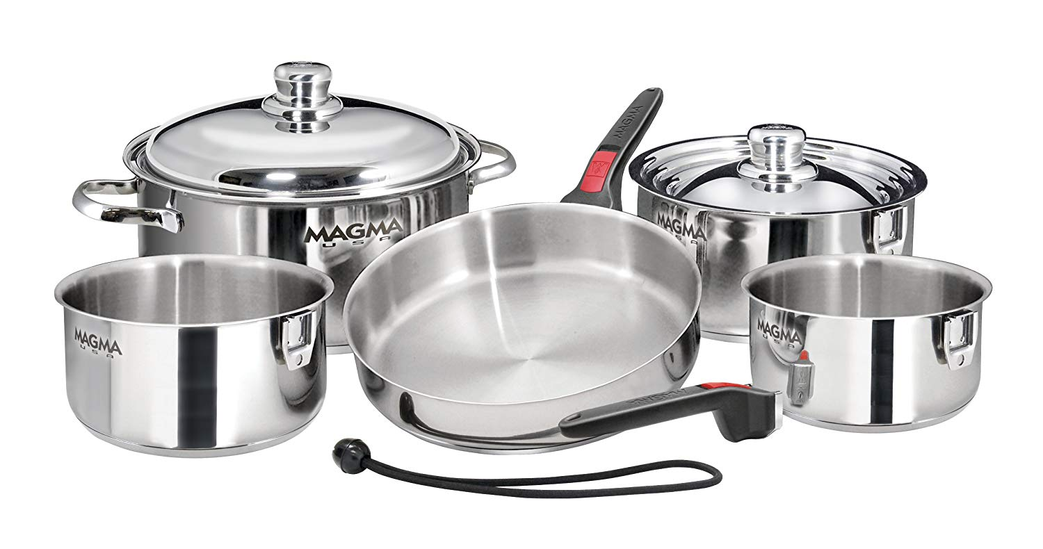 Magma nesting cookware 10 piece