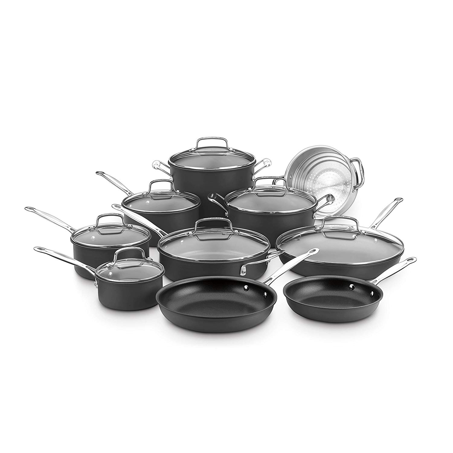 cuisinart 17 piece cookware set