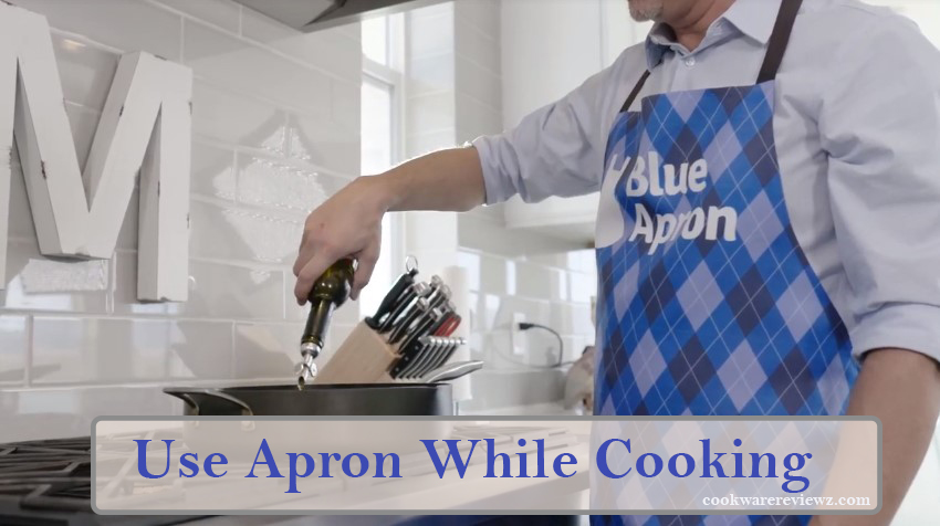 Use Apron When Cooking