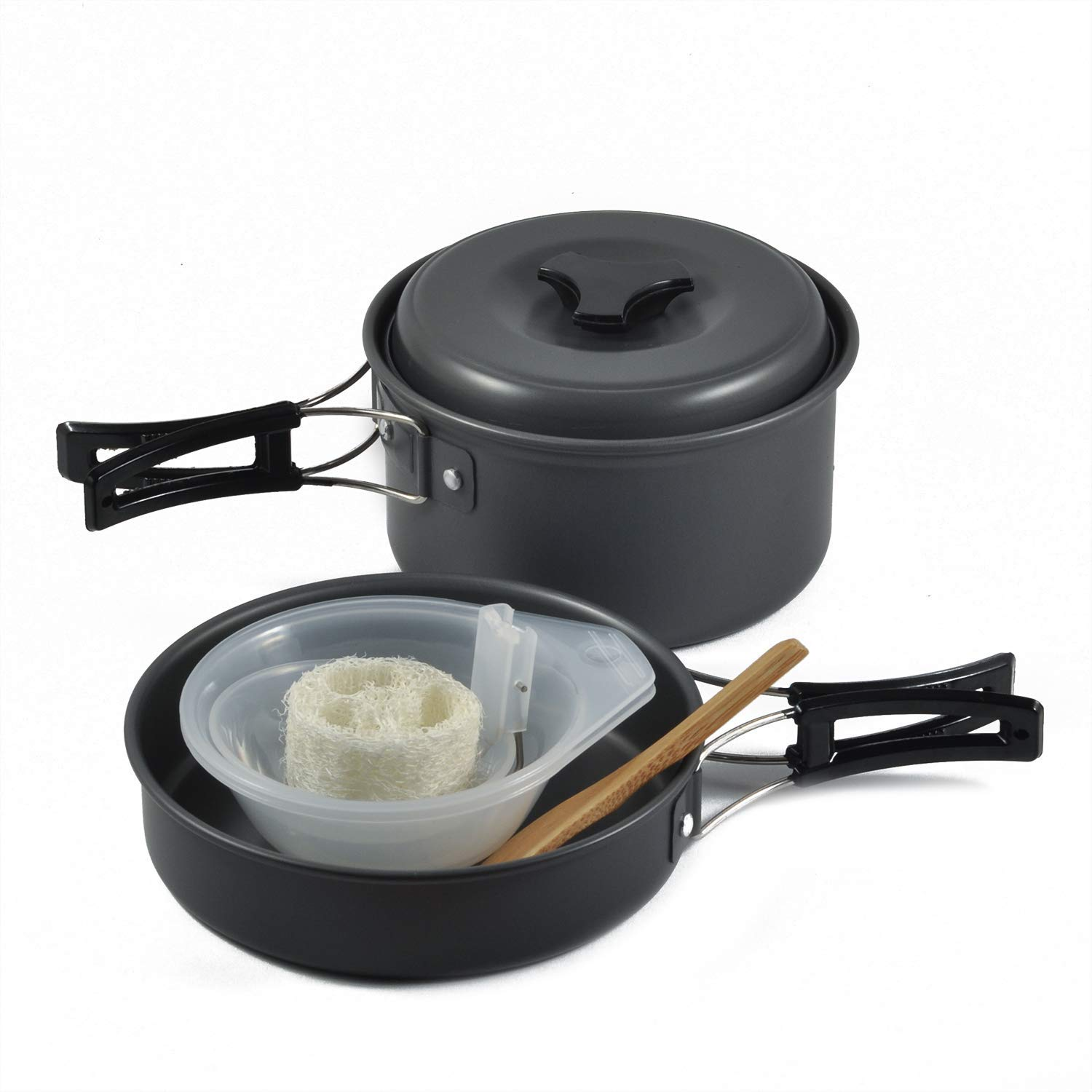 OuterEQ Camping Cookware Outdoor Mess Kit