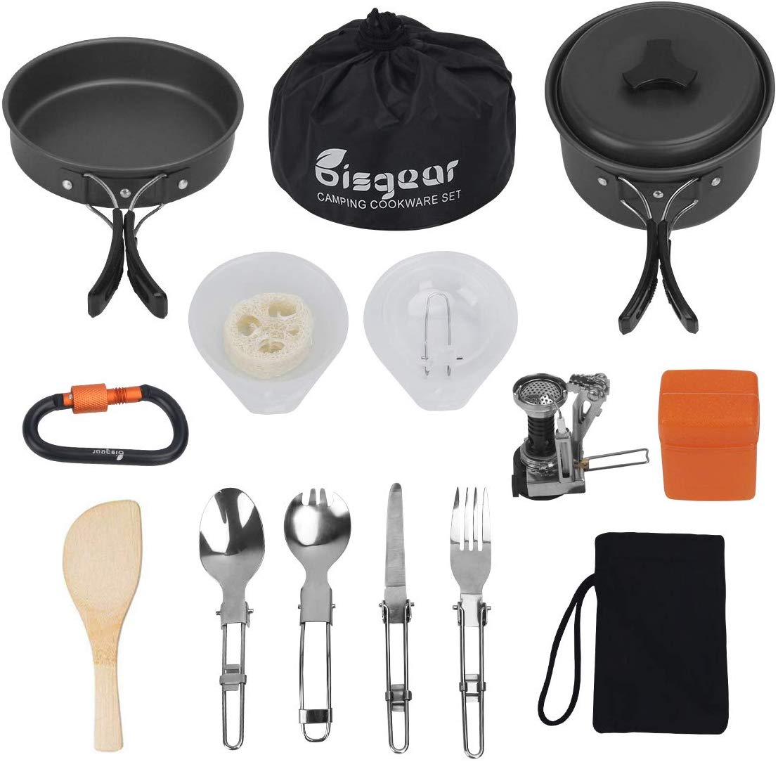 Bisgear Camping Cookware Set