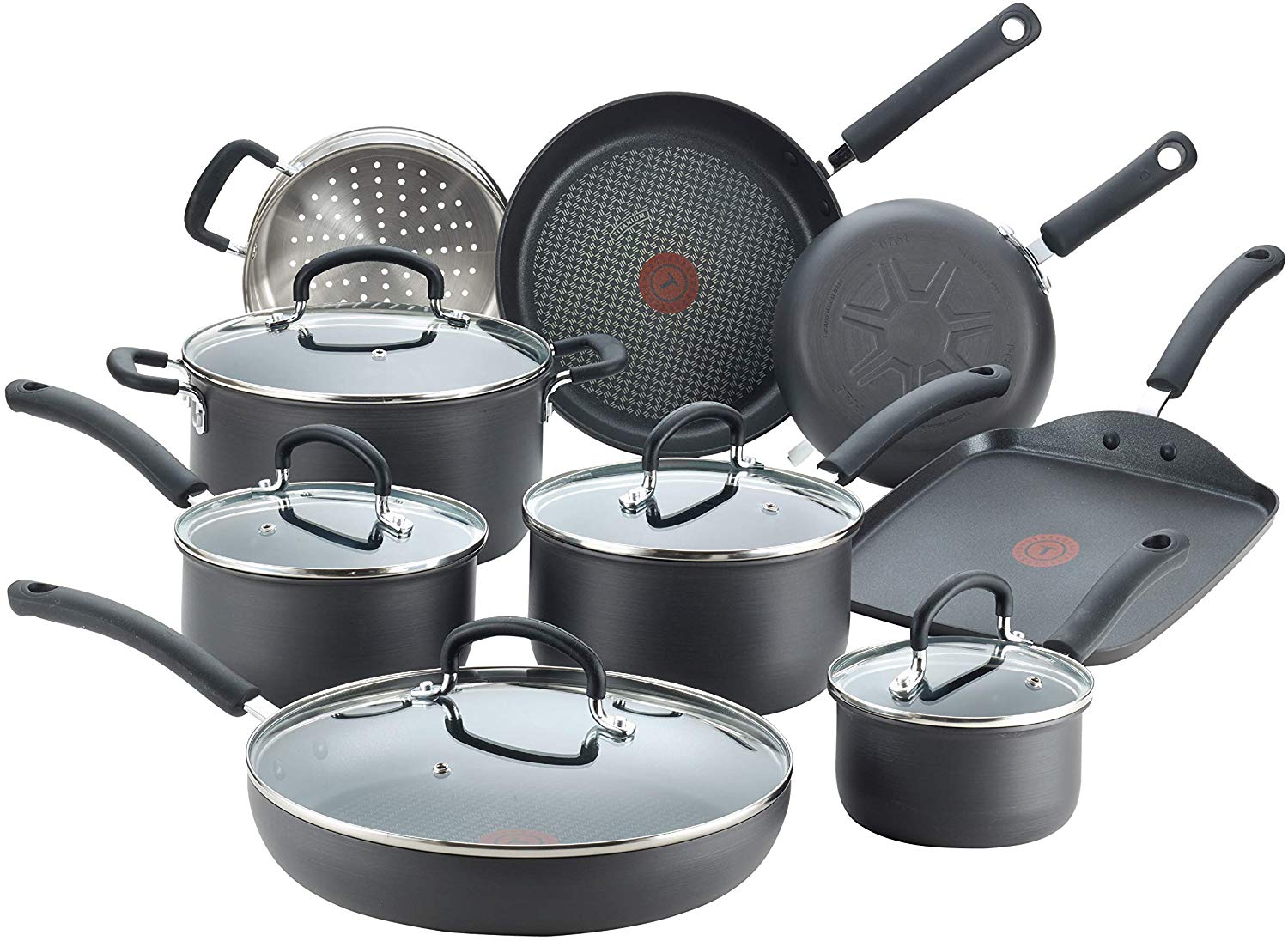 T-fal Ultimate Hard Anodized Nonstick 14 Piece Cookware Set