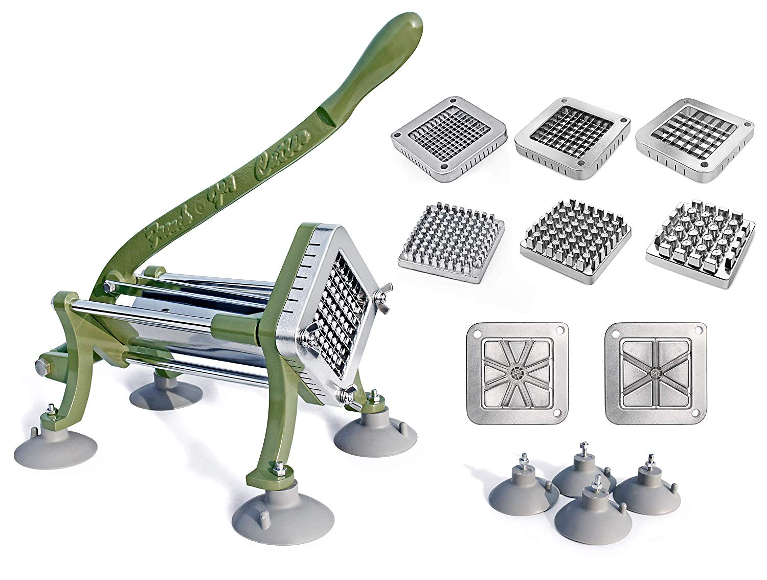 New Star Foodservice 38408 French fry cutter Combo Set