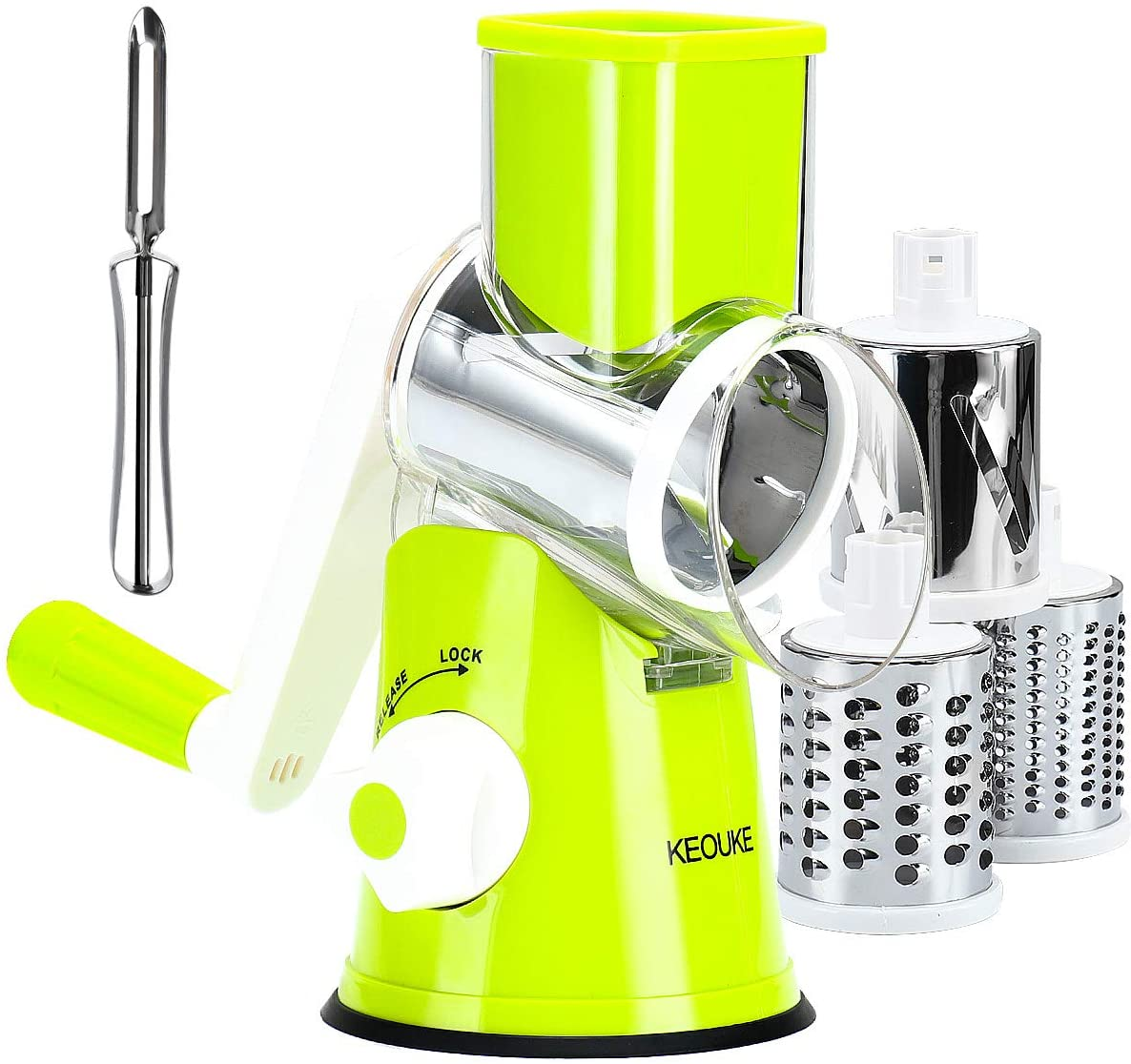 KEOUKE Manual Rotary Cheese Grater