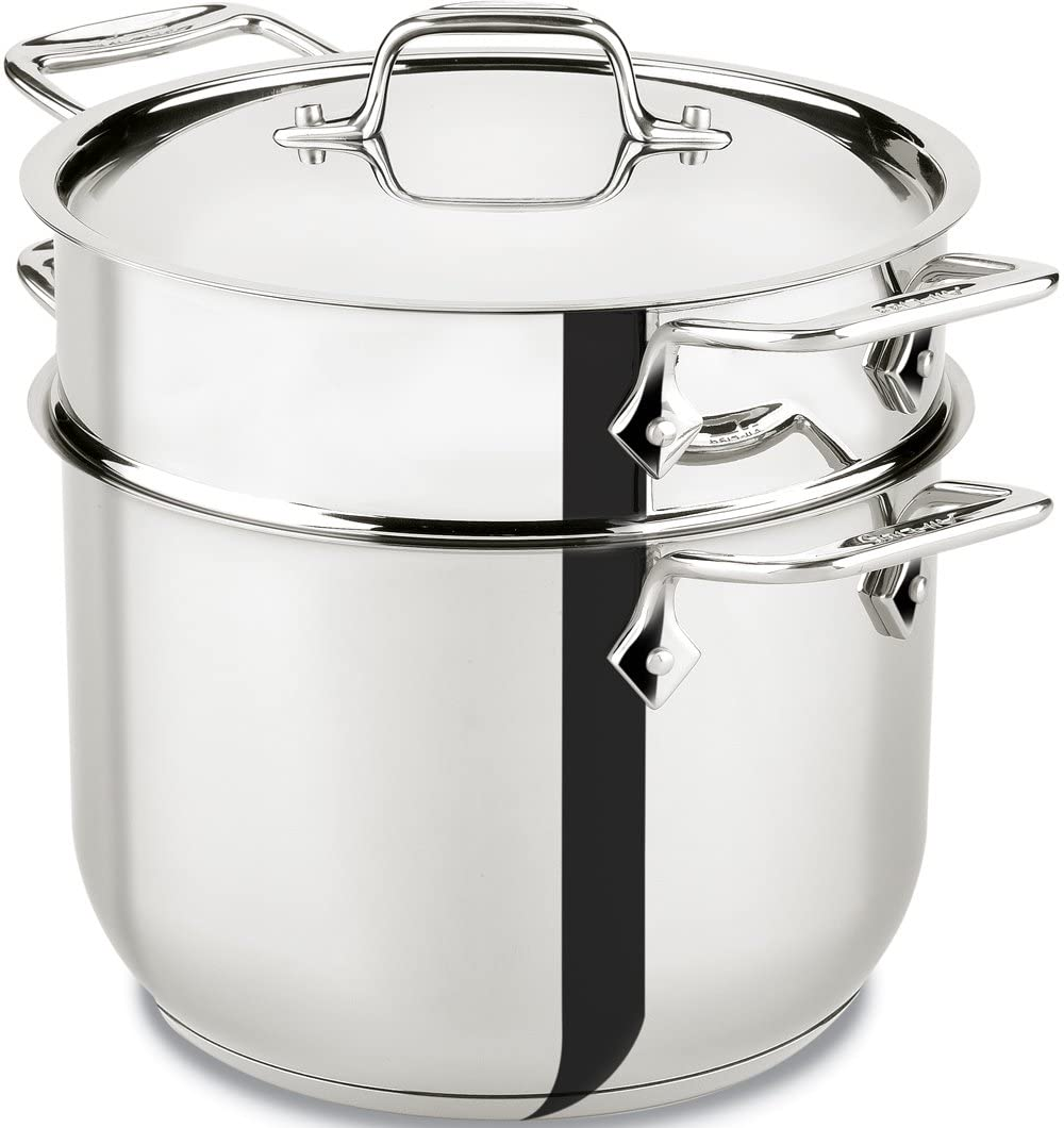 All-Clad E414S6 Stainless Steel Pasta Pot