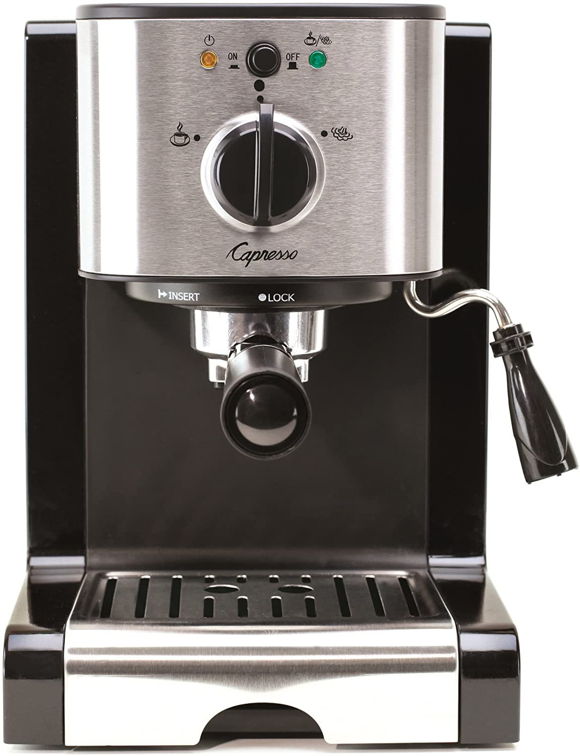 Capresso 116.04 Pump Espresso and Cappuccino Machine