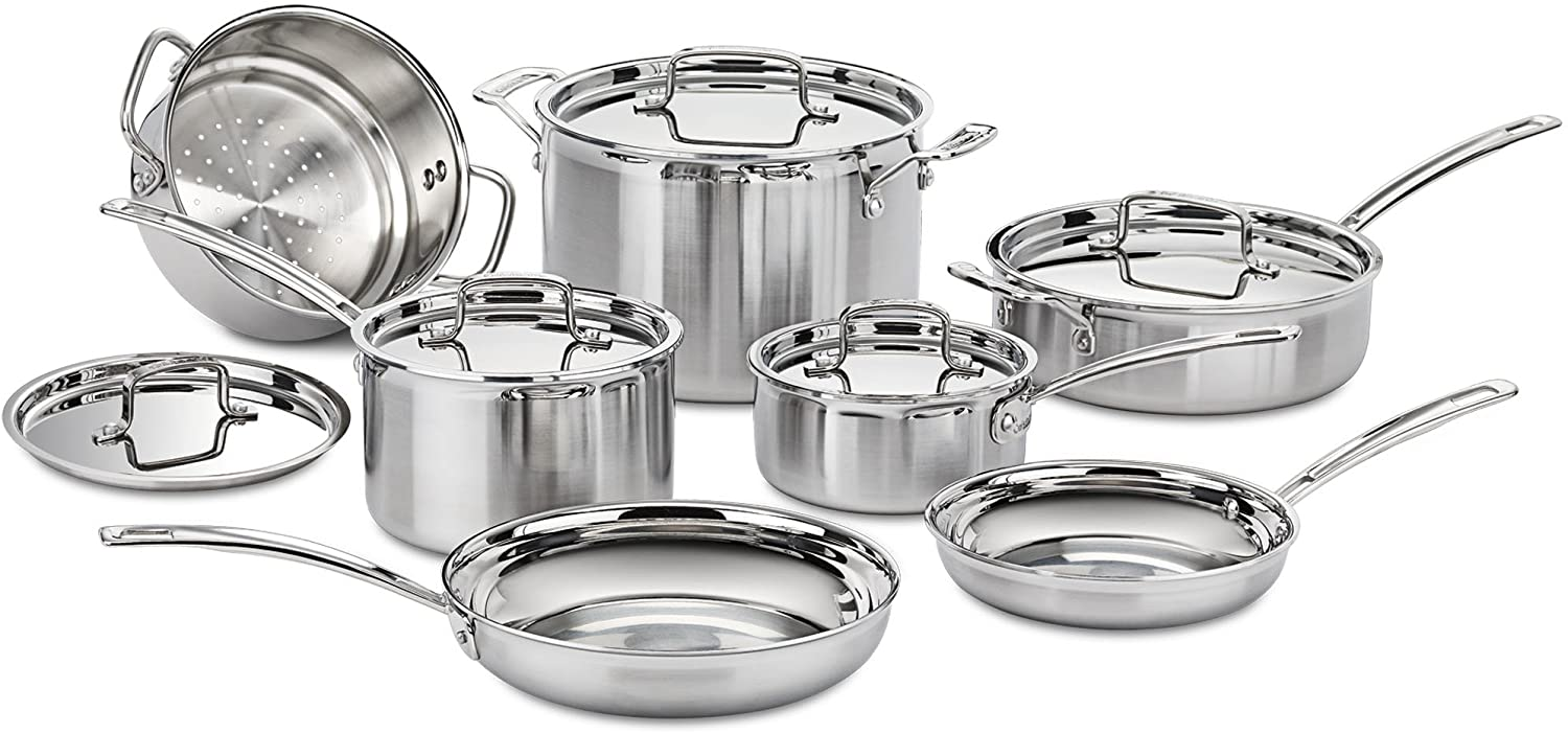 Cuisinart MCP-12N Stainless Steel Cookware Set