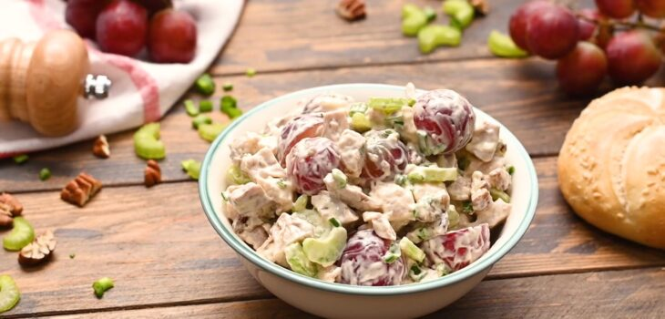 Chicken Salad Recipes with Grapes and Nuts